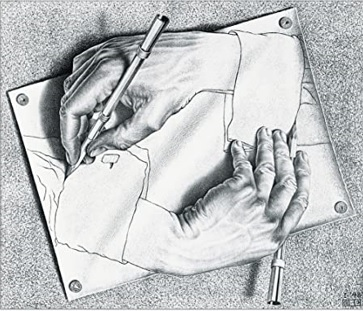 Lean Six Sigma Drawing Hands